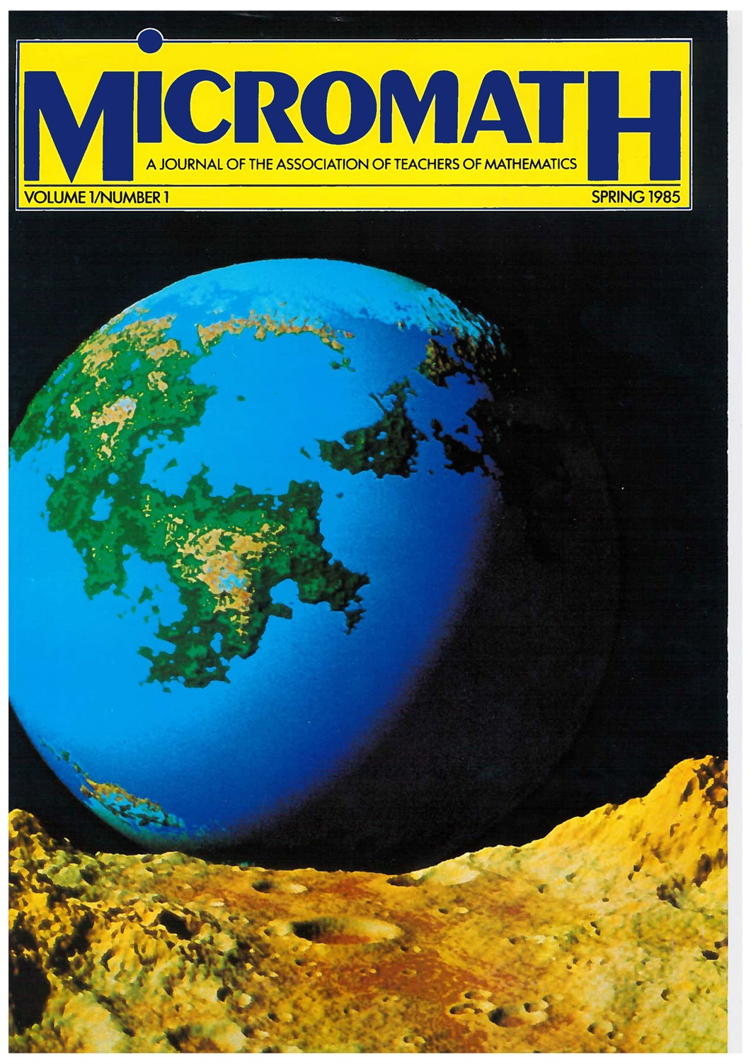 spring 1985 cover