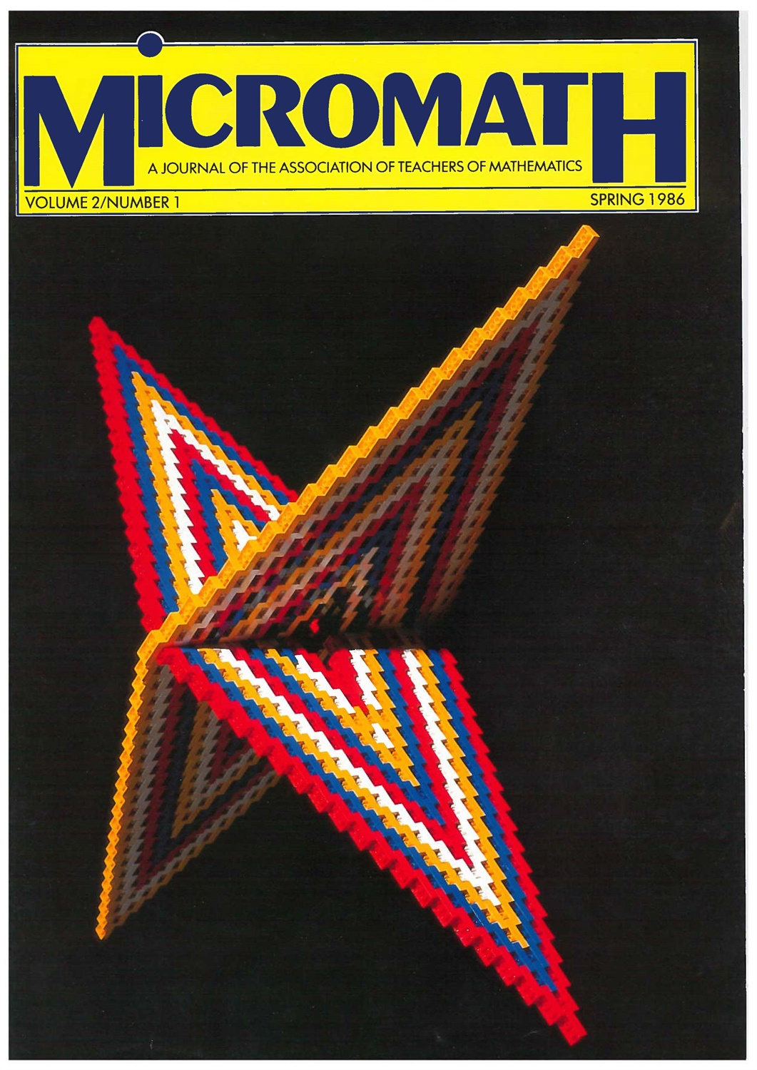 spring 1986 cover
