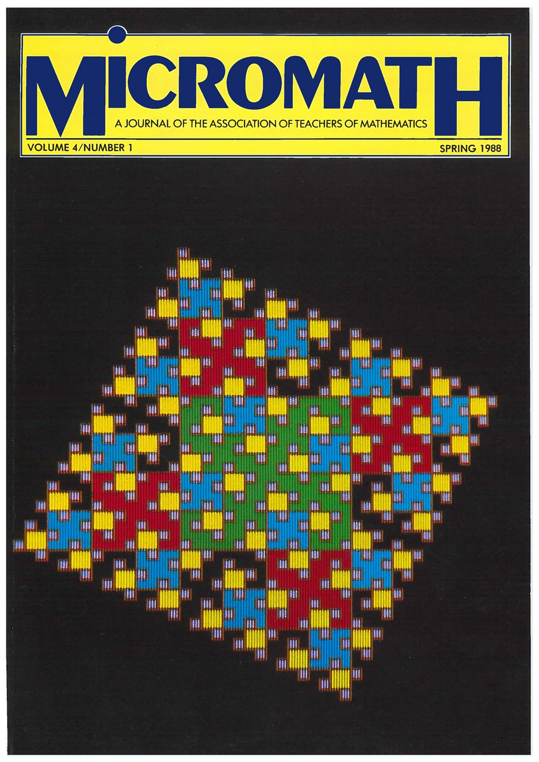 spring 1988 cover